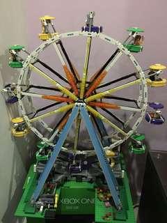 LEGO ferries wheel fully built (display set)