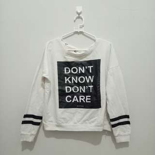 Sweater Sixtyone hitam putih