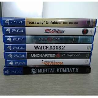 ps4 games seconds