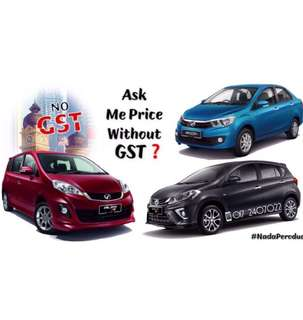 Perodua WithOut GST‼️