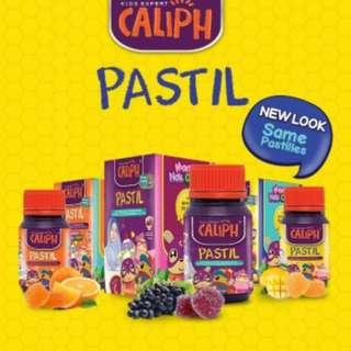 Caliph Pastil Multivitamin Chewable Tablets