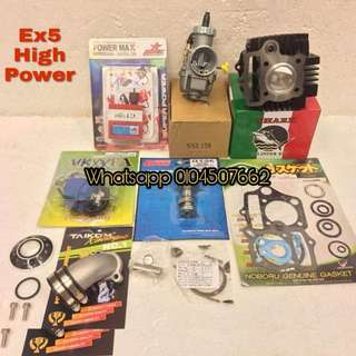 ---Package Racing Honda EX5 High Power---
