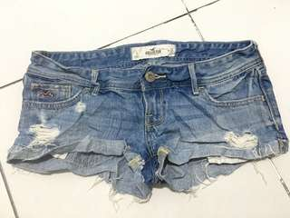 Hollister tattered shorts