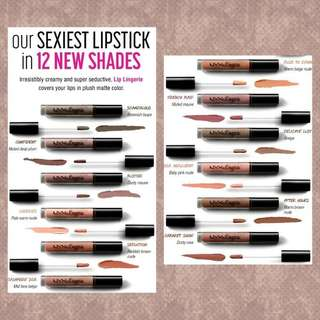 NYX PROFESSIONAL MAKEUP - Lingerie series