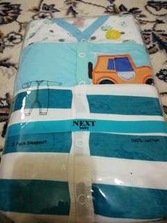 Next Premium Sleepsuit - 3 pieces