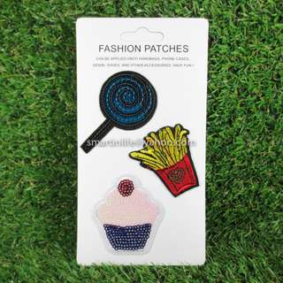 Embroidered Sew DIY-Patches Iron On Badge for Fabric Clothes 07