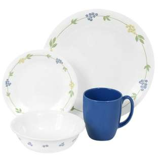 Corelle 16-piece Round Dinnerware Set in Secret Garden
