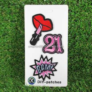 Embroidered Sew DIY-Patches Iron On Badge for Fabric Clothes 08