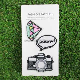 Embroidered Sew DIY-Patches Iron On Badge for Fabric Clothes 04