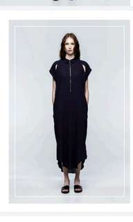 Osker the label - navy maxi dress