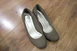 Comfort Plus Brown Heels