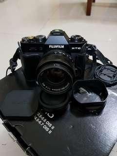 Fujifilm X-t10 with 35mm F1.4