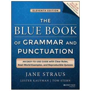 (Ebook) The Blue Book of Grammar and Punctuation. An Easy-to-Use Guide by Jane Straus