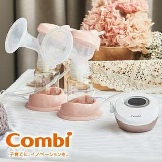 🚚 Combi自然吸韻電動雙邊吸乳器