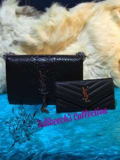 YSL sling with wallet