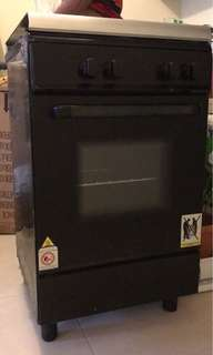 Gas Hob/Gas Oven White Westinghouse
