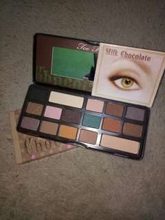 Too Face Eyeshadow Chocolate Bar