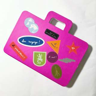 Agnes b memo pad with stickers