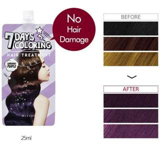 Missha 7 Days Coloring Hair Treatment