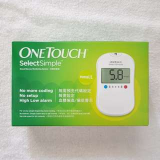 ONETOUCH SelectSimple Blood Glucose Monitoring System