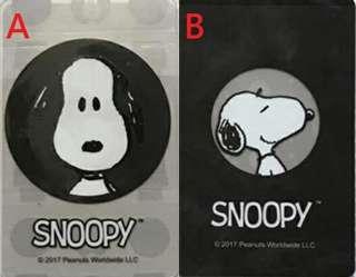 🚚 iPass 一卡通 SNOOPY 一卡通 黑圈圈、黑黑卡 兩款可挑史奴比 一卡通 史努比