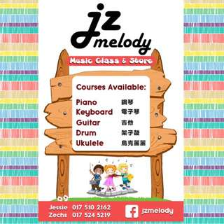 JZ melody Music Courses & Music Items