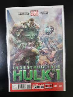 The Indestructible Hulk (2013) #1