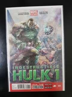 The Indestructible Hulk (2013) #1