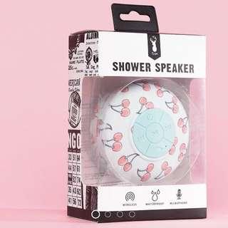 Cherry shower speaker