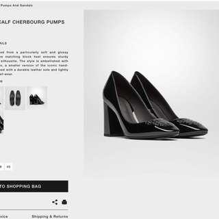 BV黑色高跟鞋(買大了而平售)