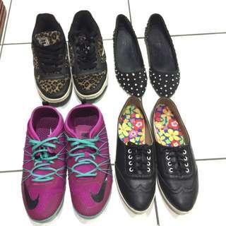 🚚 Nike平底鞋娃娃鞋休閑鞋尖頭鞋