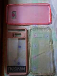 Samsung s8 plus cases (bundle) all auth.