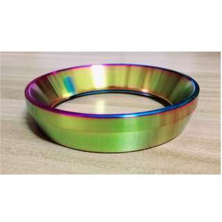 Rainbow Color Dosing Ring Dosing Funnel (58mm)
