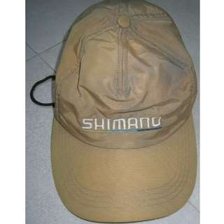 Jockey cap with Shimano wording embroidered