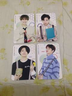 GOT7 Official 4th Anniversary Fanmeeting Photocard