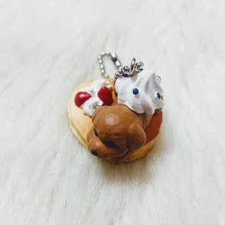 貴賓鬆餅 點心狗5 扭蛋 轉蛋 擺飾 收藏 珍藏 毛小孩 可愛 萬代 原色