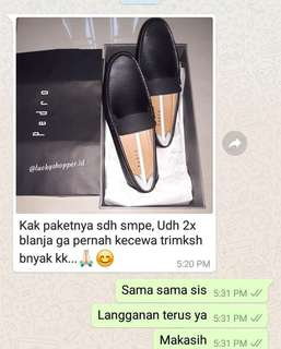Testimoni pedro shoes