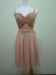 🚚 性感粉色小洋裝