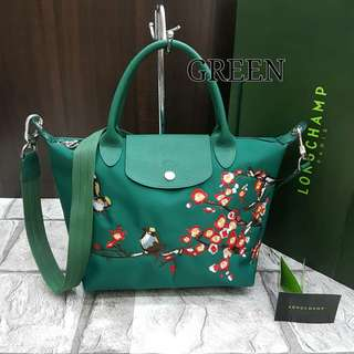 Longchamp Sakura Green
