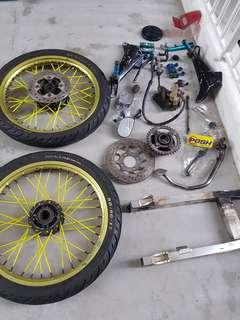 Honda Wave Spare Parts
