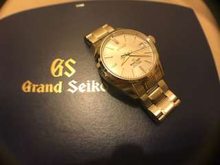 Grand Seiko GS SBGH001 Hi-beat 36000 停產 double logo