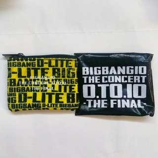 BigBang 10週年演唱會限定會場特典散紙包 D-LITE 姜大聲款 BigBang10 The Contect 0.to.10 -The Final- BigBang日本週邊