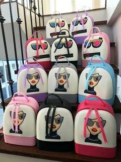 Jelly Back Pack Bag With Character