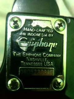 Sale gitar ephipone good condition, info bisa wa 082353149490
