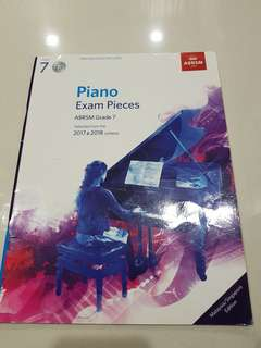ABRSM G7-2017 & 2018 with CD (can be use for 2019 exam)