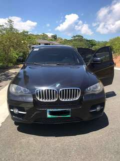 BMW X6 rush