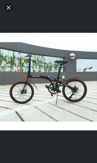 Bicycle - HACHIKO 20 Inch Mrt Foldable Bike