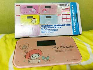 Sanrio My Melody Weighing Scale