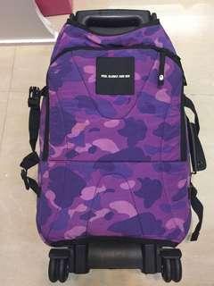 BAPE /超級絕版 20吋 可上機 / 變背包 /電腦袋