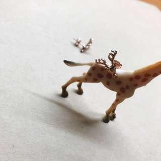 金色鹿鹿耳針